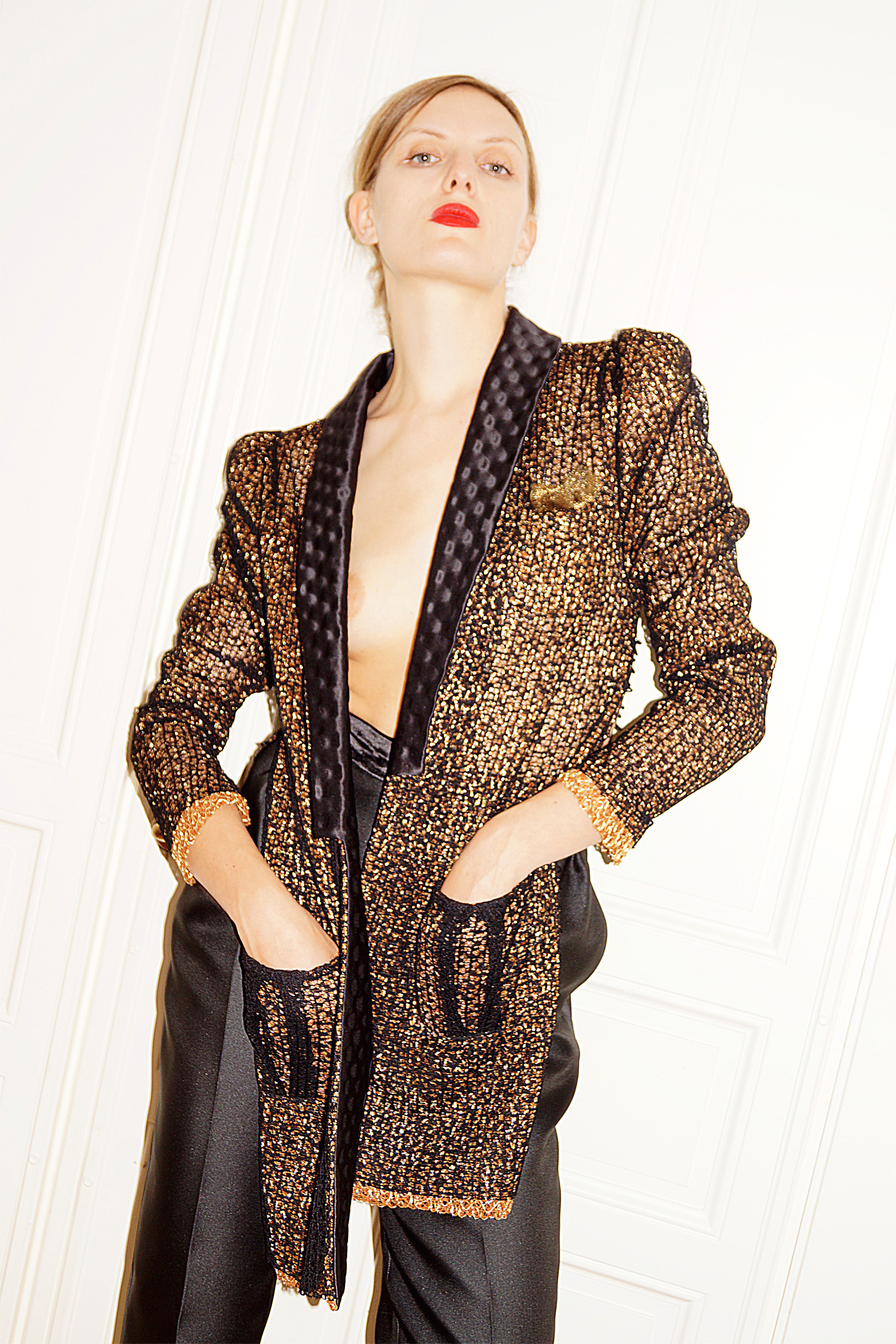 LACE TWEED JACKET